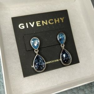 Givenchy Swarovski Crystal Earrings *NEW*